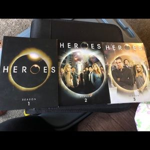 Other - Heroes Season 1, 2 and 3 DVDs